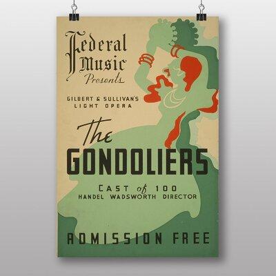 Big Box Art The Gondoliers Vintage Advertisement