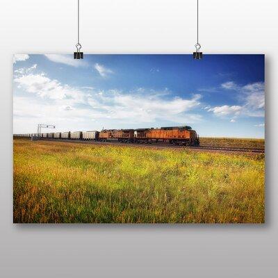 Big Box Art Wyoming Train Photographic Print