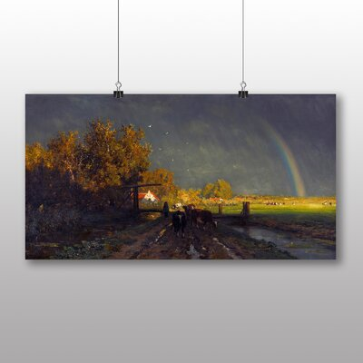Big Box Art 'The Rainbow' by Willem Roelofs Photographic Print
