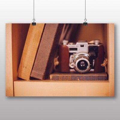 Big Box Art Vintage Retro Camera No.4 Photographic Print on Canvas