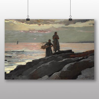 Big Box Art 'Saco Bay' by Winslow Homer Art Print