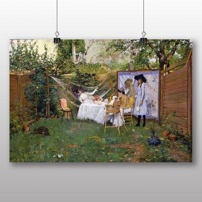 Big Box Art 'Open Air Breakfast' by William Merritt Chase Art Print