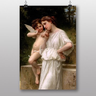"Big Box Art ""Secrets I Love"" by William Adolphe Bouguereau Art Print"