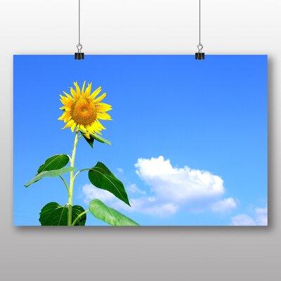 Big Box Art Yellow Sunflowers Flower No.2 Photographic Print