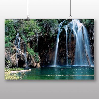Big Box Art Waterfall No.11 Photographic Print Wrapped on Canvas