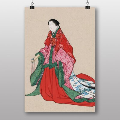 Big Box Art Woman Japanese Oriental Art Print