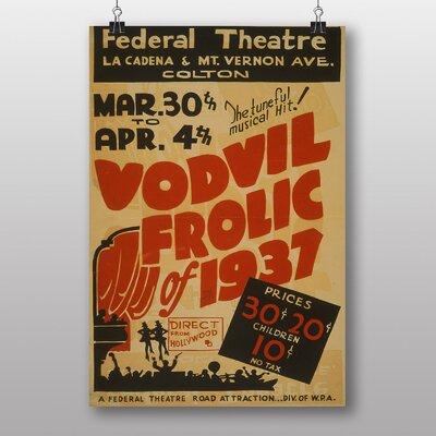 Big Box Art Vordvil Frolic Vintage Advertisement