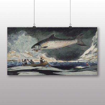 Big Box Art 'A Good Pool' by Winslow Homer Art Print