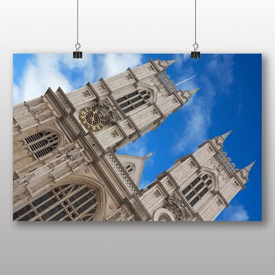 Big Box Art Westminster Abbey London No.1 Photographic Print Wrapped on Canvas