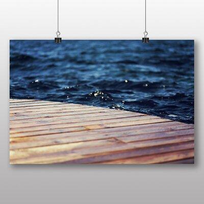 Big Box Art 'Wooden Jetty Pier' Photographic Print