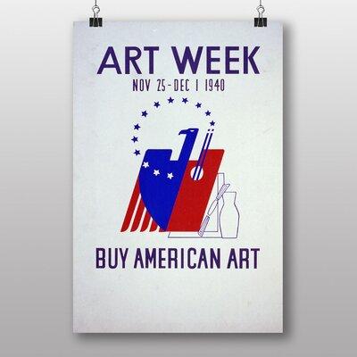 Big Box Art Week No.2 Vintage Advertisement