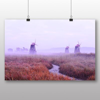 Big Box Art Windmill No.1 Photographic Print