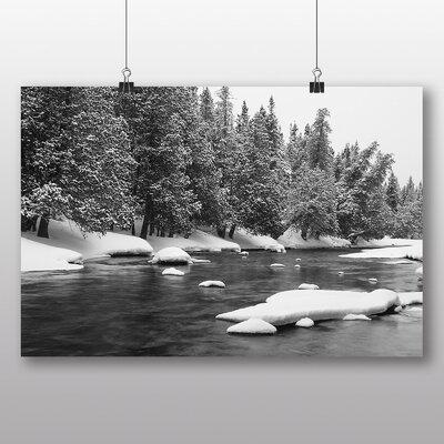 Big Box Art 'Winter Nature Scene' Photographic Print