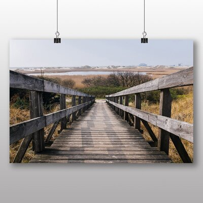 Big Box Art Wooden Foot Bridge Photographic Print