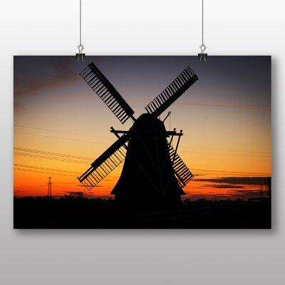 Big Box Art Windmill Netherlands Photographic Print