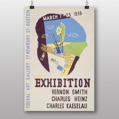 Big Box Art Exhibition No.13 Vintage Advertisement