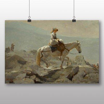 Big Box Art 'The Bridle Path' by Winslow Homer Art Print