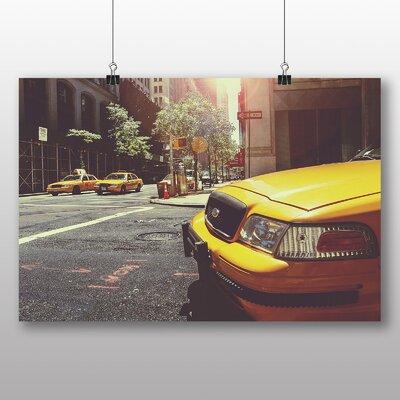 Big Box Art Yellow Taxi Cab New York City No.3 Photographic Print