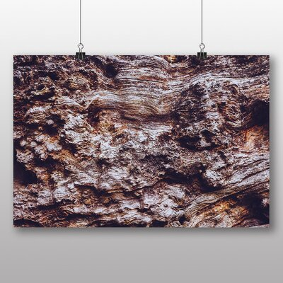 Big Box Art 'Wood Texture' Photographic Print