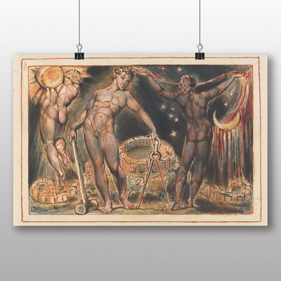 Big Box Art 'Jerusalem Plate' by William Blake Art Print