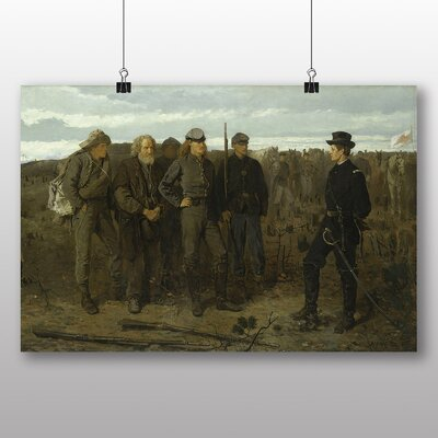 Big Box Art 'Prisoners from the Front' by Winslow Homer Art Print