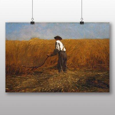 Big Box Art 'The Veteran in a New Field' by Winslow Homer Art Print