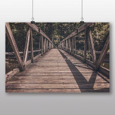 Big Box Art 'Wooden Foot Bridge No.2' Photographic Print