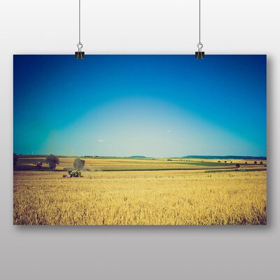 Big Box Art 'Working in the Meadows' Photographic Print