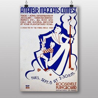 Big Box Art Magicians Contest Vintage Advertisement