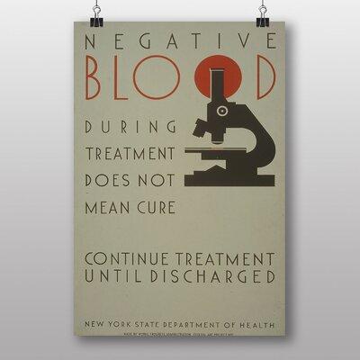 Big Box Art Negative Blood Vintage Advertisement