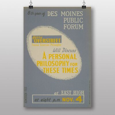 Big Box Art Personal Philosophy Vintage Advertisement