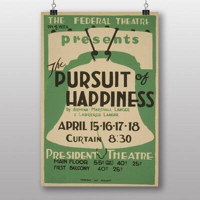 Big Box Art Pursuit of Happiness Vintage Advertisement