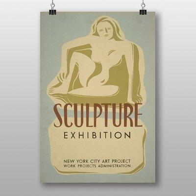 Big Box Art Sculpture Vintage Advertisement