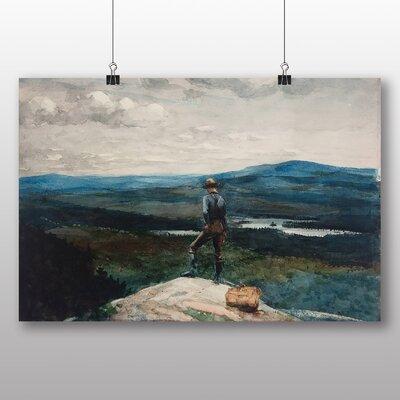 Big Box Art 'The Ranger Adirondacks' by Winslow Homer Art Print