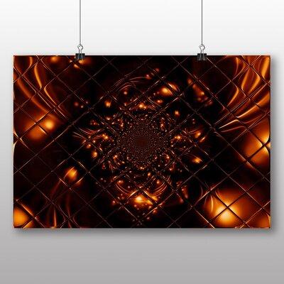 Big Box Art Mixed Colour Fractal Abstract No.6 Graphic Art