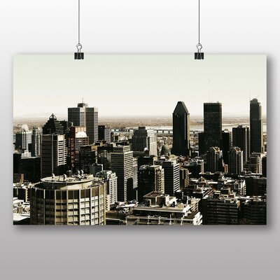 Big Box Art Montreal Canada Skyline No.1 Photographic Print