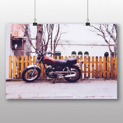 Big Box Art 'Vintage Motorcycle' Photographic Print