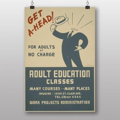 Big Box Art Adult Education Vintage Advertisement