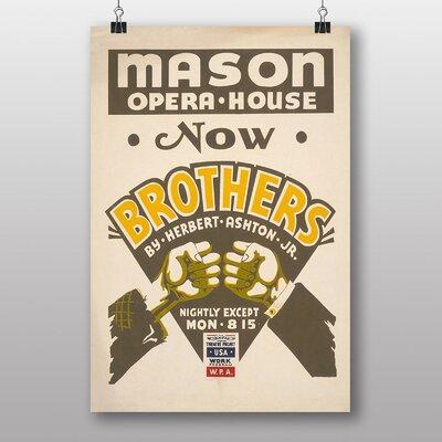 Big Box Art Brothers Vintage Advertisement