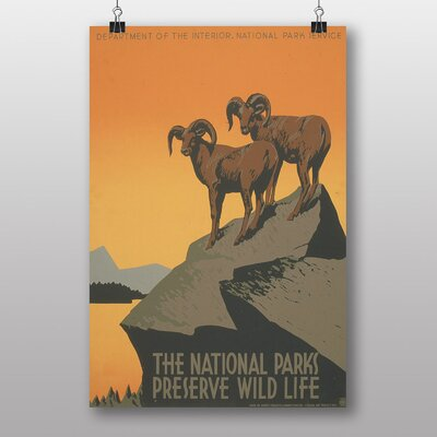 Big Box Art National Parks Vintage Advertisement