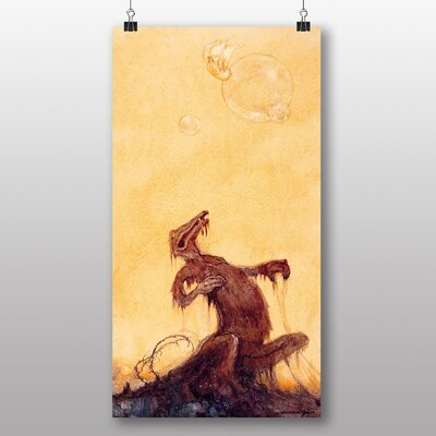 Big Box Art The Monsters' by William M.Timlin Art Print