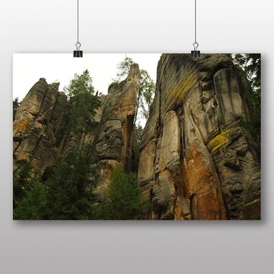 Big Box Art 'Mountain Rock' Photographic Print