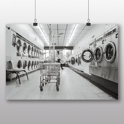 Big Box Art 'Launderette' Photographic Print