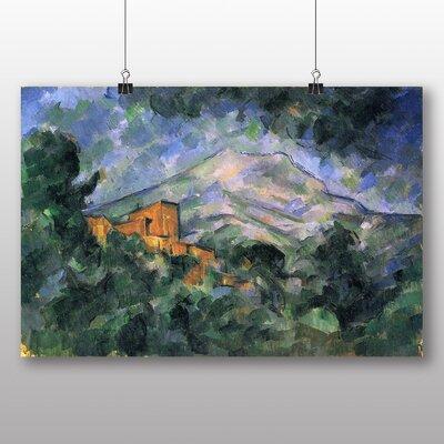 Big Box Art 'Montagne Sainte Victoire No.1' by Paul Cezanne Art Print