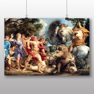 Big Box Art 'Attack' by Peter Paul Rubens Art Print