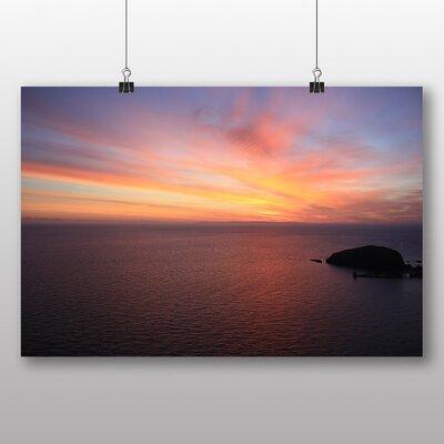 Big Box Art 'Sunset over the Sea No.2' Photographic Print