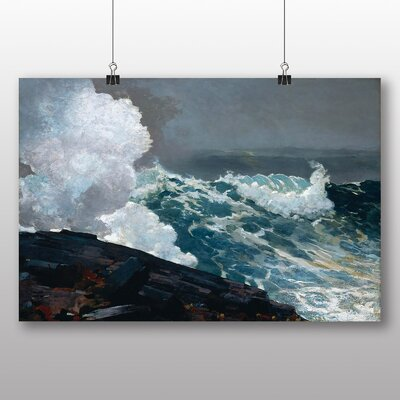 Big Box Art 'Northeaster' by Winslow Homer Art Print