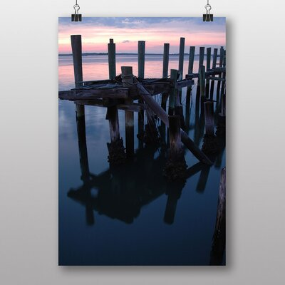 Big Box Art 'Sunset over the Sea No.2' Photographic Print