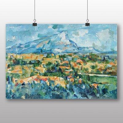 Big Box Art 'Landscape No.1' by Paul Cezanne Art Print