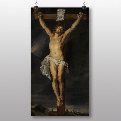 Big Box Art 'Christ on the Cross' by Peter Paul Rubens Art Print